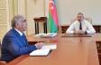 Prezident Saleh Məmmədovu qəbul etdi