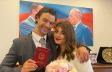 Van Dammın oğlu azərbaycanlı xanımla evləndi