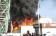 """""""Metro City"""" ticarət mərkəzi yandı"""