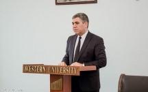 Qərb Universitetində Vüqar Bayramovun seminarı keçirildi