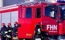 Abşeronda mikroavtobus yandı