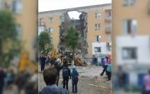 Rusiyada binada partlayış, ölənlər var