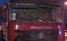 """""""Shacman"""" piyadanın üstündən keçdi"""