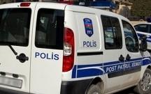 Şəmkirdə polislərin olduğu maşın aşdı