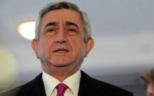 Sarkisyan Parisdə səfərdədir
