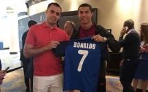 Azərbaycan millisinin forması Ronaldoya hədiyyə edildi