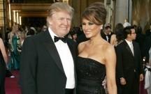 Donald və Melaniya Tramp onun toyuna gedir