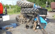 """Traktorla toqquşan """"06""""nın sürücüsü həlak oldu"""