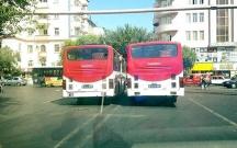132 nömrəli avtobusların hərəkət sxemi dəyişdirilib