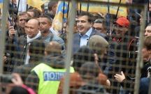 Kiyevdə etirazçılarla polis arasında qarşıdurma olub