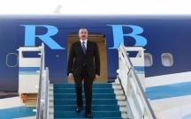 Prezident Türkiyəyə getdi