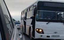 Bakıda avtobus özbaşınalığı