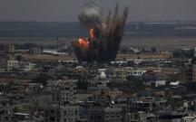 İsrail yenidən Qəzzanı bombalamağa başlayıb