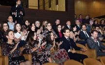 Leyla və Arzu Əliyevalar solo konsertdə