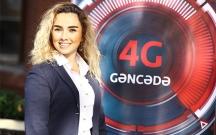 """""""Bakcell""""in 4G xidməti artıq Gəncədə!"""