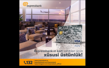 Expressbank-ın kart sahibləri üçün xüsusi üstünlük!