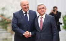 Putinlə Sarkisyan Belarusda səfərdədirlər