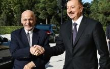 İlham Əliyev Əfqanıstan prezidenti ilə görüşüb