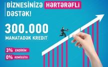 Bank of Baku-dan Biznes kreditlərinə 3% endirim
