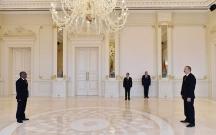 Prezident yeni səfiri qəbul etdi
