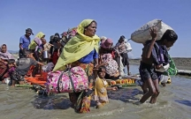 Myanmada bir ayda 9 min müsəlman öldürülüb