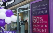 Azercell-in daha bir eksklüziv mağazası Mərdəkanda