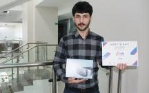 Azərbaycan Universitetinin tələbəsi II yerə layiq görülüb