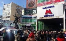 Tiflis metrosunda hadisə