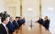 Prezident türkiyəli naziri qəbul edib