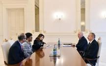 Prezident Dünya Bankının regional direktorunu qəbul edib