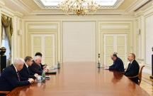 Əliyev Minsk qrupu həmsədrlərini qəbul edib