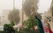İranda qum tufanı həyatı iflic etdi