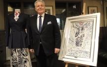 Azərbaycanlı rəssamın əsərləri London Moda Həftəsində