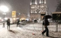 Fransada 3 nəfər soyuqdan ölüb