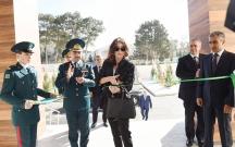 Mehriban Əliyeva DSX-ya aid korpusun açılışında