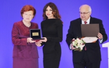 Mehriban Əliyevaya yüksək mükafat verildi