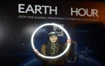 """Bakıda """"Yer saatı 2018"""" ekoloji kampaniyası keçirildi"""