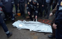 Şəmkirdə iki maşın toqquşdu, polis əməkdaşı öldü