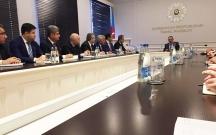 Ramiz Mehdiyev yeni naziri kollektivə təqdim etdi