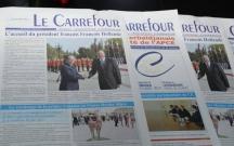 """""""Le Carrefour"""" qəzetinin 11 yaşı oldu"""