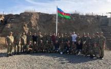 """""""Qarabağ"""" futbolçuları cəbhədə"""