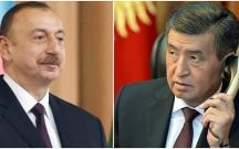 Qırğızıstan prezidenti Əliyevə zəng edib