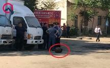Partlayışla bağlı vəzifəli şəxs saxlanıldı