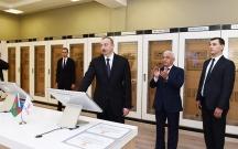 Prezident yarımstansiya və Bayraq Muzeyinin açılışında