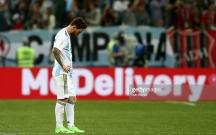 Messili Argentina darmadağın oldu