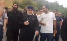 Ermənistan əhalisi yenə küçələrə axışdı