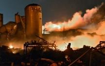 İranda neft anbarında partlayış oldu