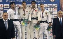 Cüdoçumuz Praqada gümüş medal qazandı