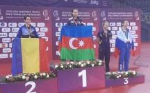 Azərbaycan idmançısı stolüstü tennis üzrə Avropa çempionu oldu