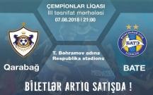 """""""Qarabağ"""" - BATE matçının biletləri satışa çıxdı"""